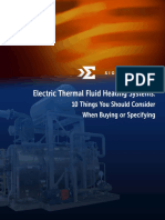 Electric Thermal Fluid Heating Systems 10 Things