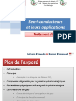 Semi-conducteurs Et Leurs Applications- Purification d'Air