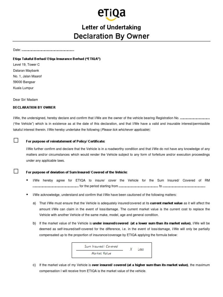 Lou Owner Motor V1 0 Indemnity Insurance