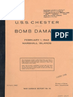 U.S.S. CHESTER (CA-27), BOMB DAMAGE - Marshall Islands, February 1, 1942 Images.pdf