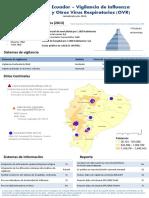 Ecuador - Perfil Vigilancia Influenza