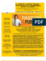 August 22, 2010 Bulletin