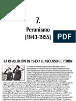 Peronismo (1943-1955)