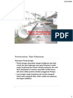 Materi Sewerage ; Perencanaan Pipa Sewer