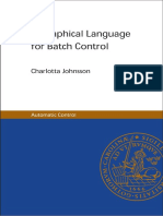 A Graphical Language for Batch Control