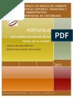 Portafolio I Unidad 2017 DSI II León Mejia