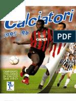 Edizioni Panini - Campionato 1995-1996