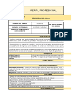 Manual de Funciones Panificadora Indicadores