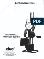 Brinell Tester