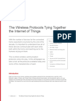 The Wireless Protocols Tying Together the Internet of Things