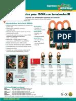 Pinza Amperimetrica EX-830