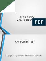 Silencio Administrativo 1