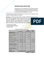 Proyecto Del Hotel Iris (Costos)