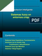 Sistemas Fuzzy en Entornos Crisp