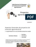 2. Presentacion proyectos agroindustriales