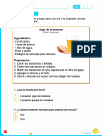 Evaluación lectura Lenguaje