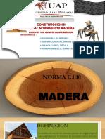 Construccion II Madera