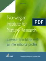 Linnell Norwegian Institute for Nature Research Brosjyre 2012