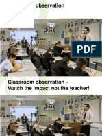 Classroom Observation Hattie