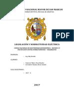 Trabajo de legislacion- CNE - Sección 19