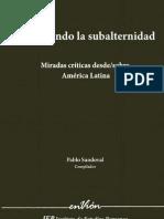 do La Subaltern Id Ad Miradas Criticas Desde Sobre America Latina