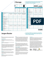 DLink Business Storage Cheat Sheet Jan 2015