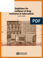Guidelines for Survilence Drug Resistence Tb WHO 2009