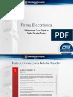 Firma Electronica - Instrucciones ADOBE