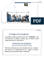 Introducción a La Auditoría de SI
