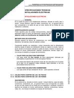 Especificaciones Tecnicas Instalaciones Electricas Alorena Final01