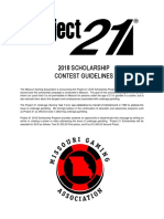 2018 Project 21 Application