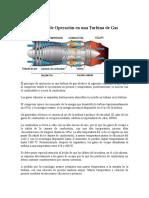 Principio de Operación en Una Turbina de Gas