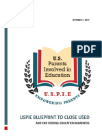 USPIE Blueprint to Close U.S. Department of Education and End Federal Mandates