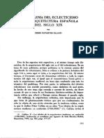 El Problema del Eclecticismo en la arquitectura española del SXIX.pdf