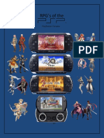 RPG's of the PSP (PlayStation Portable)
