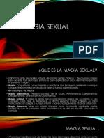 La Magia Sexual