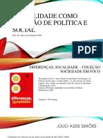 Sexualidade Como Questão de Política e Social