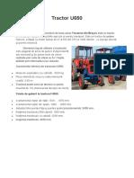 Tractor U650.docx