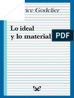 Godelier, Maurice (1984) - Lo Ideal y Lo Material