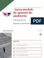 El Nuevo Modelo Del Dictámen Del Auditor - Presentació Semana Del Contador (ICPARD) Mayo 2016 Final