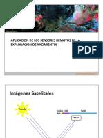 Aplicacion de Los Sensores Remotos en La Exploracion de Yacimientos