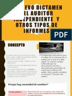 Ok Expo El Nuevo Dictamen Del Auditor Independiente y Otros