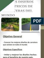 Mejores Diseños Geométricos de Carreteras Del Mundo