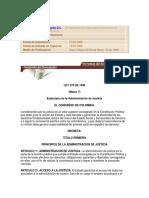 Ley 270 de 1996