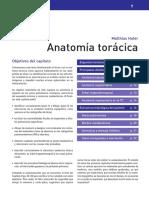 Anatomía torácica
