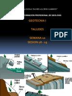 9 Taludes y Causas de Inestabilidad Geotecnia i