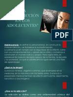 LA DROGADICCION EN LOS ADOLESCENTES ( una mirada Laica y Biblica)