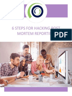 5 Steps for Hacking Postmortem Reporting