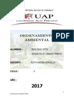 Ordenamiento Territorial Distrito de Comas - Parte i