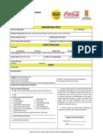 TAYO 15 Entry Form